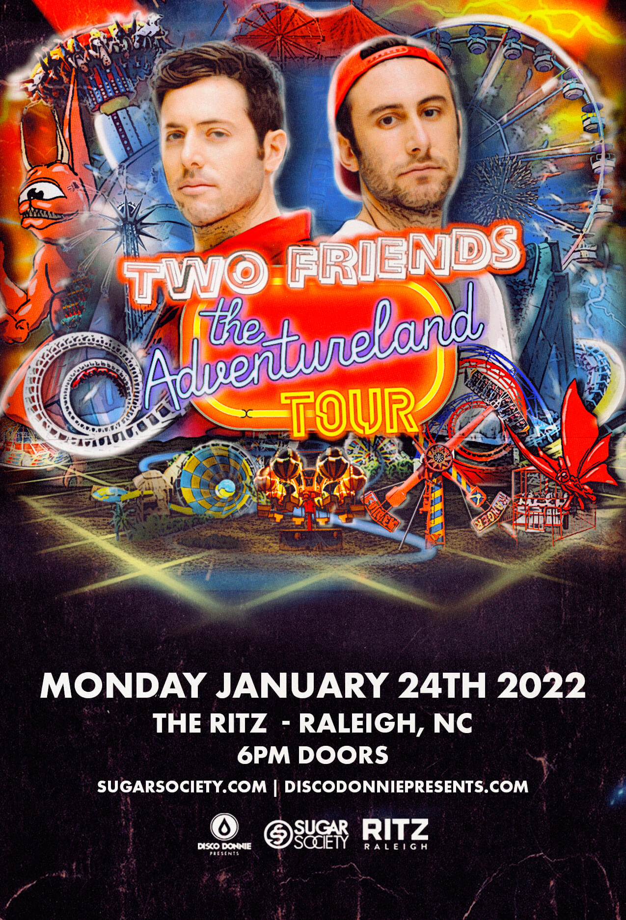 Two Friends in Raleigh