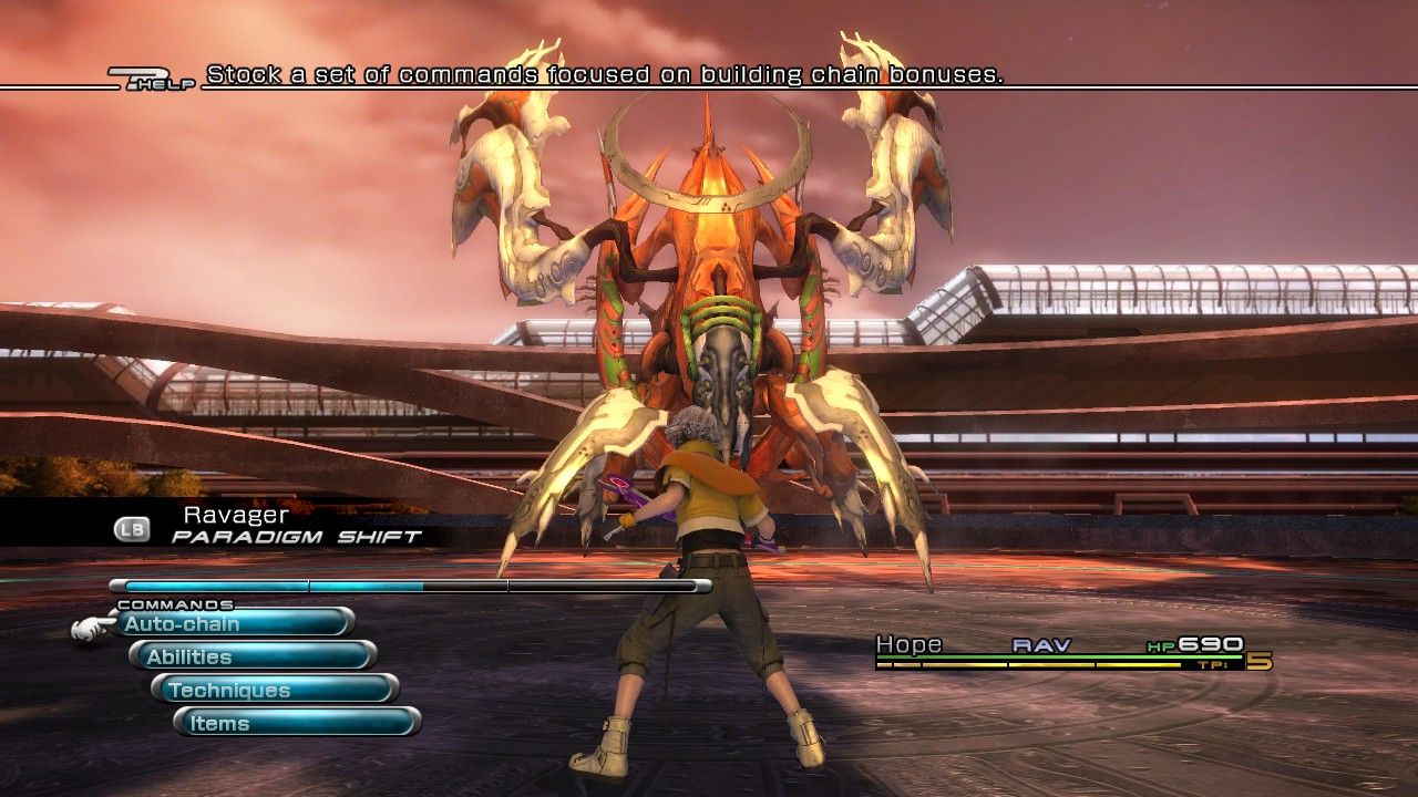 Final Fantasy XIII Review: Welcome to THE HALLWAY - Tilting at Pixels