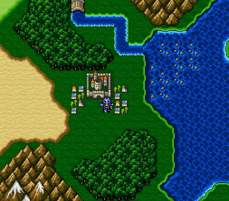 Final Fantasy Maps Through The Ages The Snes Era Tilting At Pixels