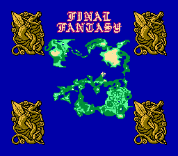 Final Fantasy Maps Through the Ages: The NES Era - Tilting ...