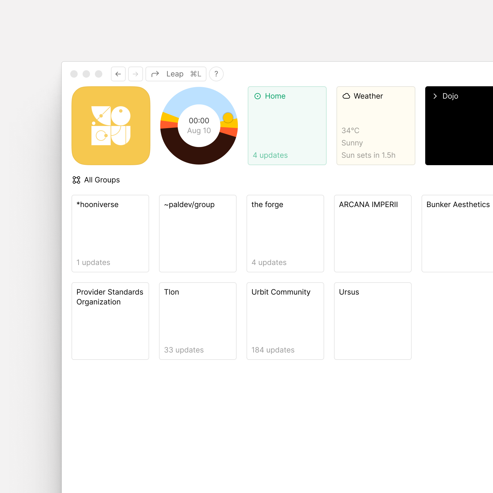 A speculative interface for Landscape S2