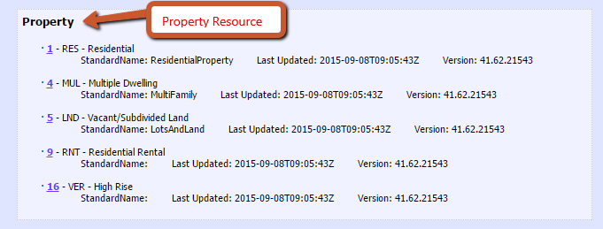Property Resource.