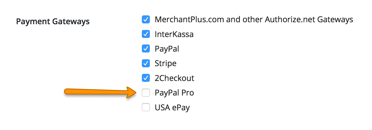 WP-Invoice: Paypal Pro