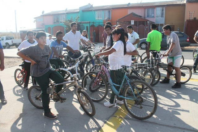 Bicicletada Barrio Vista Alegre (1)
