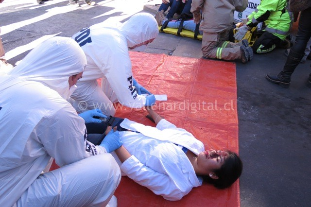Simulacro de Accidente (9)