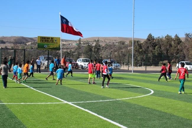 Inauguración Cancha de Futbolito Villa Cordillera (1)