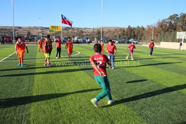 Inauguración Cancha de Futbolito Villa Cordillera (2)