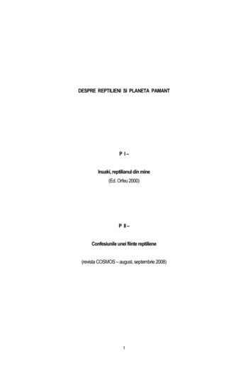 INUAKI REPTILIANUL DIN MINE.PDF EBOOK DOWNLOAD