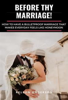 Before Thy Marriage PDF
