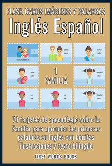 1 - Familia - Flash Cards Imágenes y Palabras Inglés Español PDF