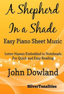 A Shepherd in a Shade Easy Piano Sheet Music PDF