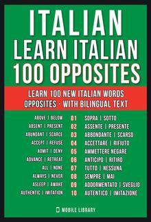 Italian - Learn Italian - 100 Opposites PDF