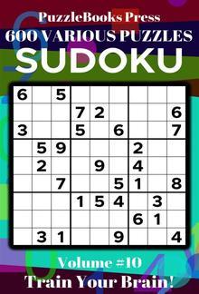 PuzzleBooks Press Sudoku – Volume 10 PDF