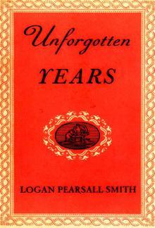 Unforgotten Years PDF