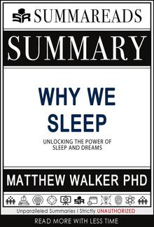 Summary of Why We Sleep PDF