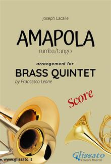 Amapola - Brass Quintet - score PDF