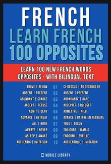French - Learn French - 100 Opposites PDF