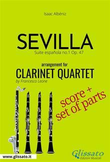 Sevilla - Clarinet Quartet score & parts PDF