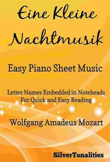 Eine Kleine Nachtmusik Easy Piano Sheet Music PDF