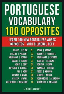 Portuguese Vocabulary - 100 Opposites PDF