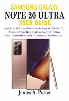 Samsung Galaxy Note 20 Ultra User Guide PDF