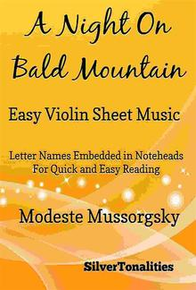 A Night on Bald Mountain Easy Violin Sheet Music PDF