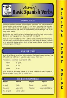 Spanish Verbs (Blokehead Easy Study Guide) PDF