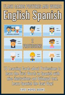 2 - Professions - Flash Cards Pictures and Words English Spanish PDF