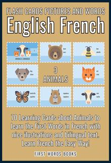 3 - Animals - Flash Cards Pictures and Words English French PDF