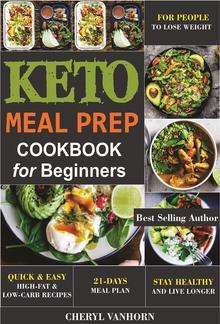 Keto Meal Prep Cookbook for Beginners PDF