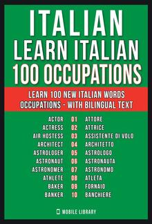 Italian - Learn Italian - 100 Occupations PDF