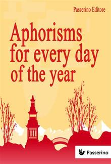 Aphorisms for Every Day of the Year PDF