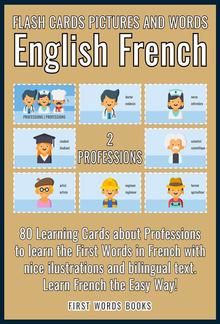 2 - Professions - Flash Cards Pictures and Words English French PDF