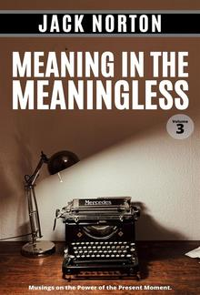 Meaning In The Meaningless, Volume 3: Musings on the Power of the Present Moment PDF