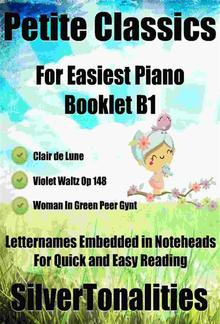 Petite Classics for Easiest Piano Booklet B1 PDF