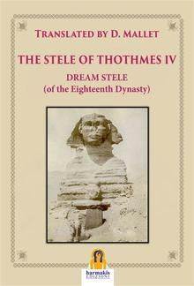 The Stele of Thothmes IV PDF