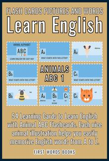 Animals ABC 1 - Flash Cards Pictures and Words Learn English PDF
