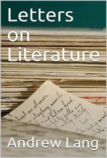 Letters on Literature PDF