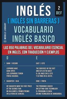 Inglés (Inglés Sin Barreras) Vocabulario Ingles Basico - 2 - DEF PDF