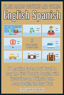 6 - Travel - Flash Cards Pictures and Words English Spanish PDF