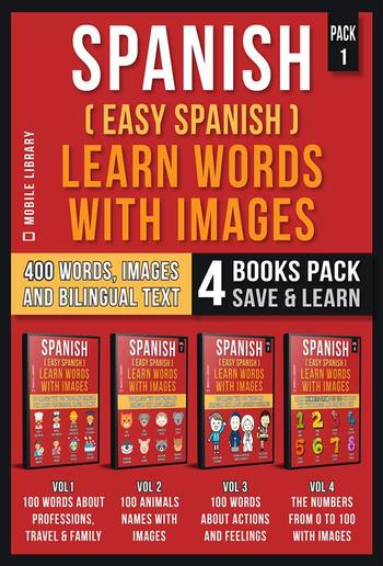Spanish (Easy Spanish) Learn Words With Images (Pack 1) PDF