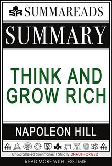 Summary of Think and Grow Rich by Napoleon Hill PDF