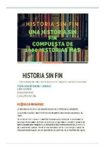 Historia Sin Fin 1000 Historia Que contar PDF