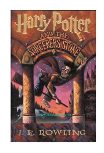 Harry Potter And The Philosophers Stone Book Pdf