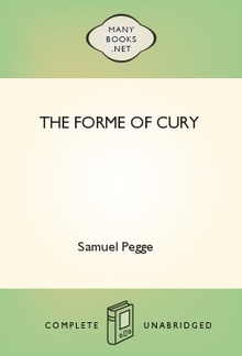 The Forme of Cury PDF
