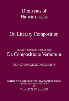 Dionysius of Halicarnassus On Literary PDF