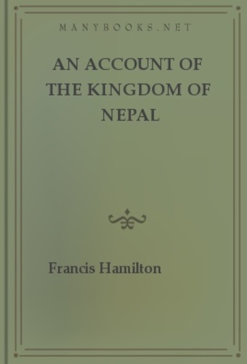 An Account of The Kingdom of Nepal PDF