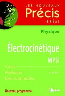Electrocinétique MPSI PDF