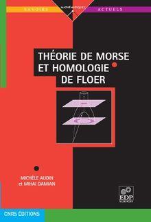 The´orie de Morse et homologie de Floer PDF