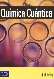 Quimica cuantica 5ed 2001 - Levine PDF